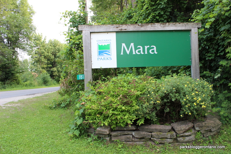 Entrance at Mara Provincial Park
