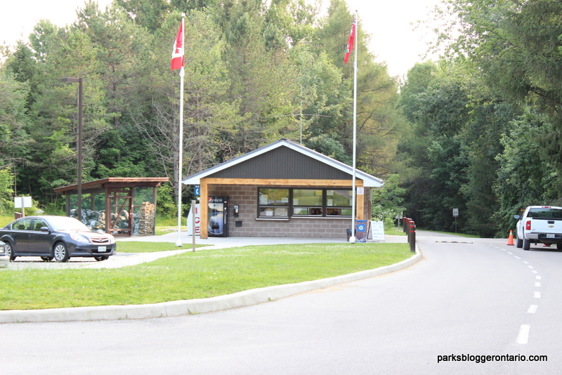Registration Office at Mara Provincial Park Ontario