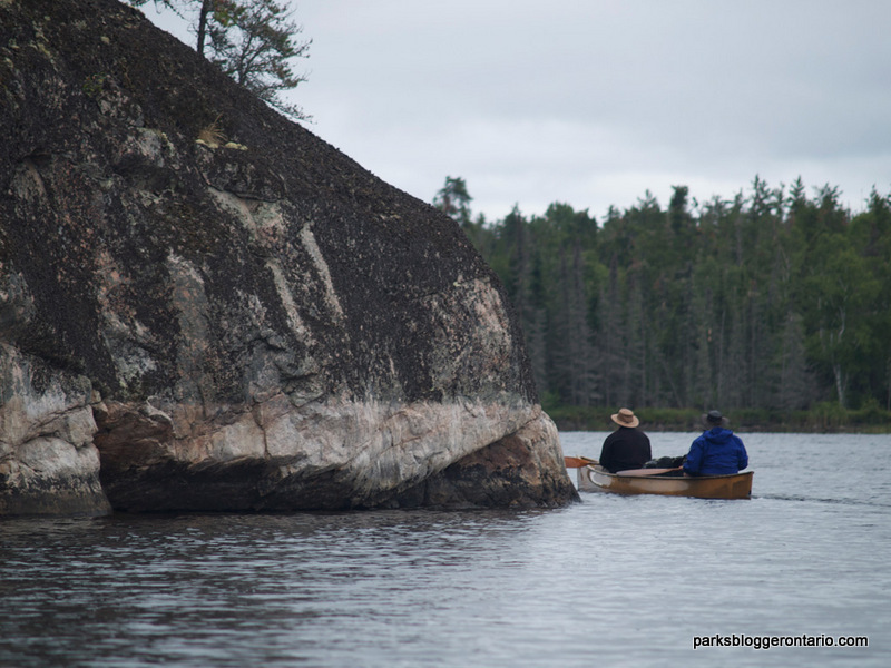 Canoeing at Woodland Caribou Provincial Park