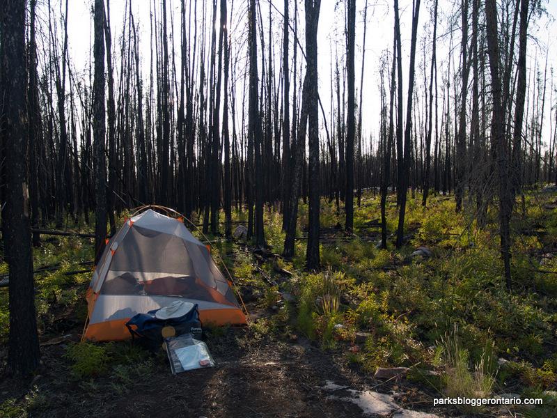 Camping at Woodland Caribou Provincial Park