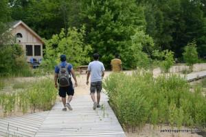 board walk at cedar springs