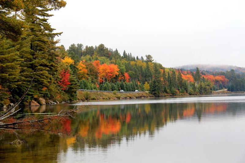 Lake of Two Rivers near Two rivers trail