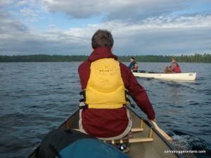 paddling in Algonquin Provincial Park