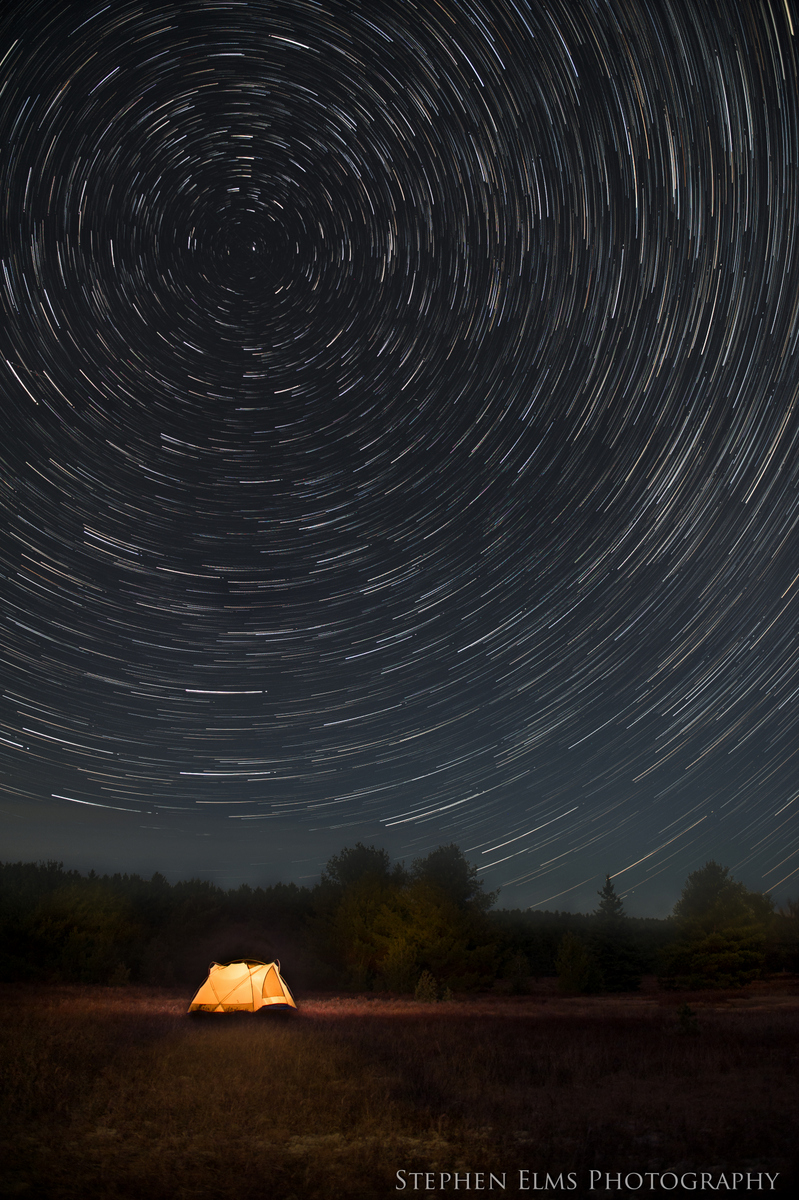 Star trails - Algonquin Provincial Park - Photography