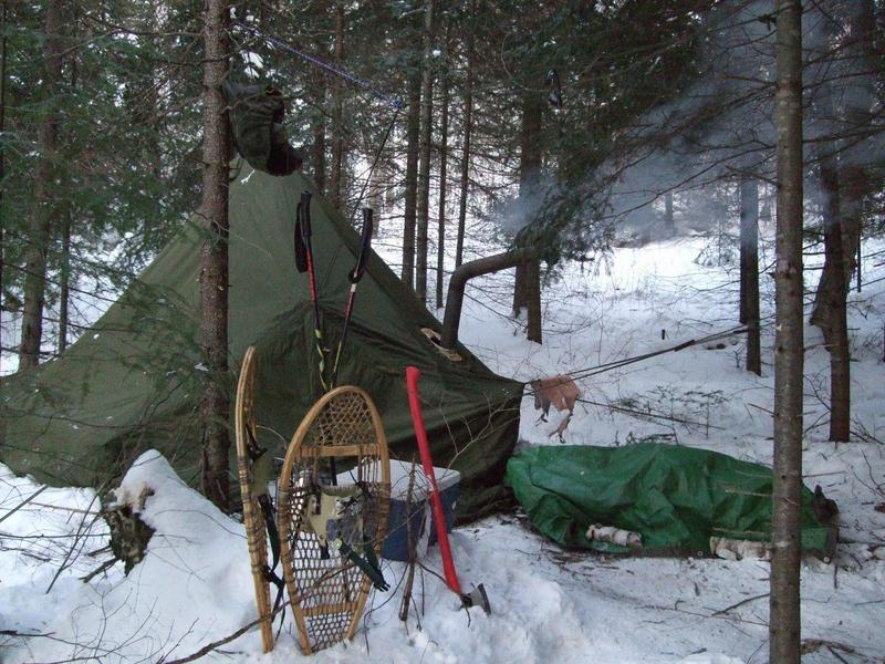 winter camping - choosing tent and gear