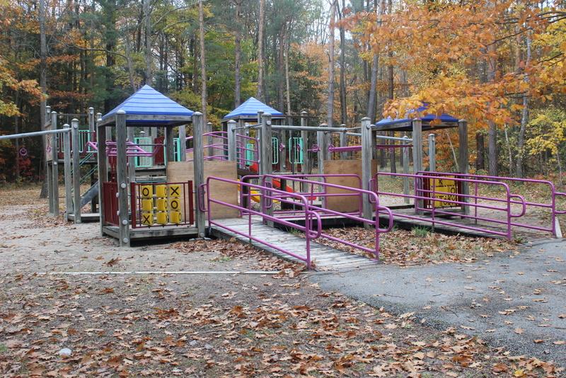 springwater provincial park kids play area