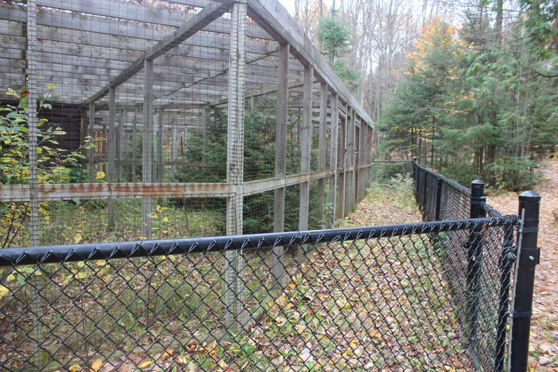 springwater provincial park vacated zoo