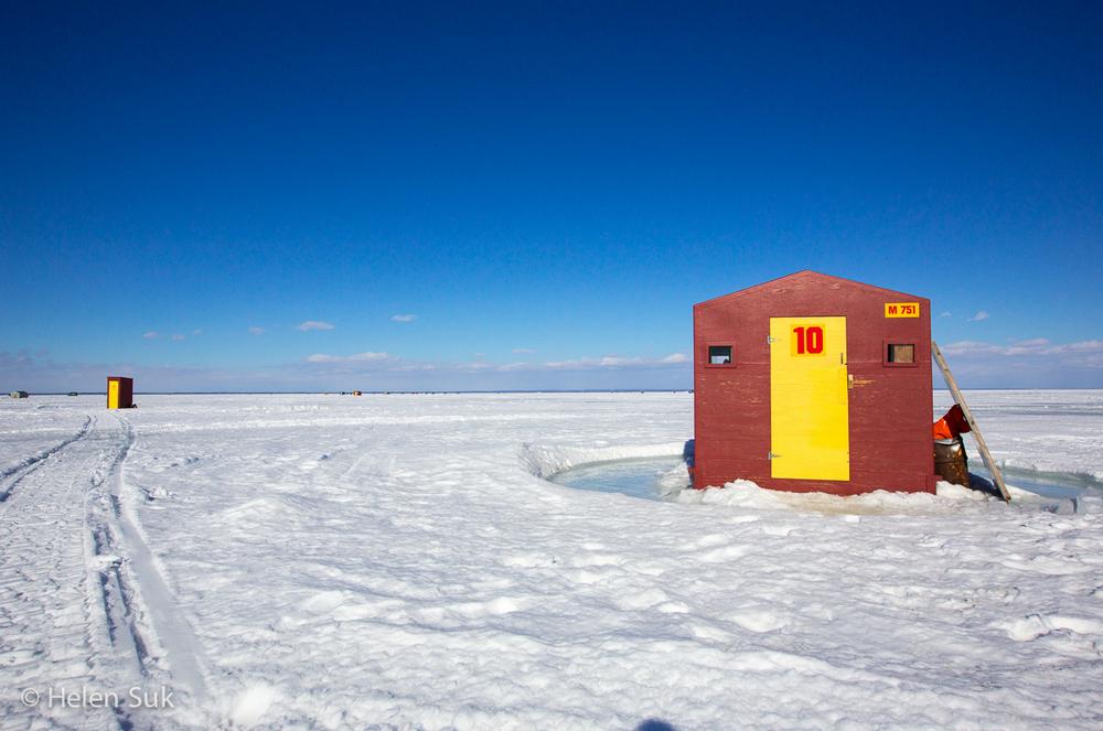 Ice Fishing - Lake Simcoe (1)