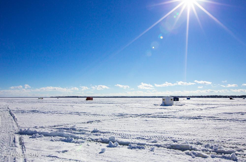 Ice Fishing - Lake Simcoe (2)