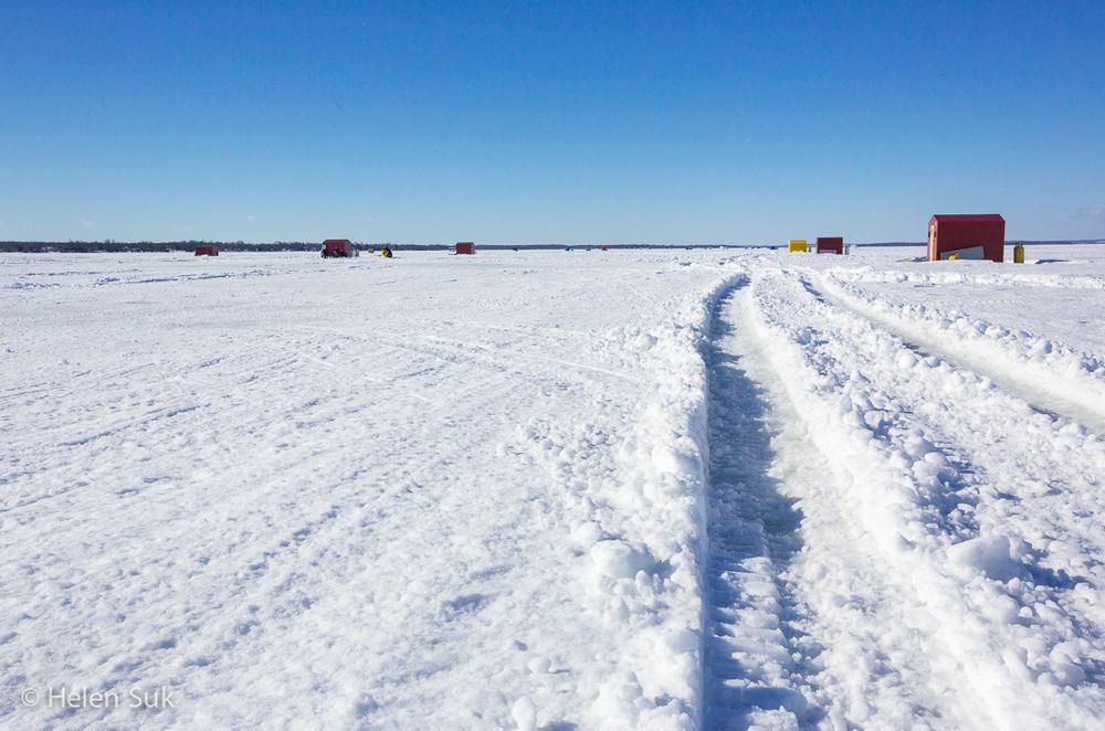 Ice Fishing - Lake Simcoe (3)