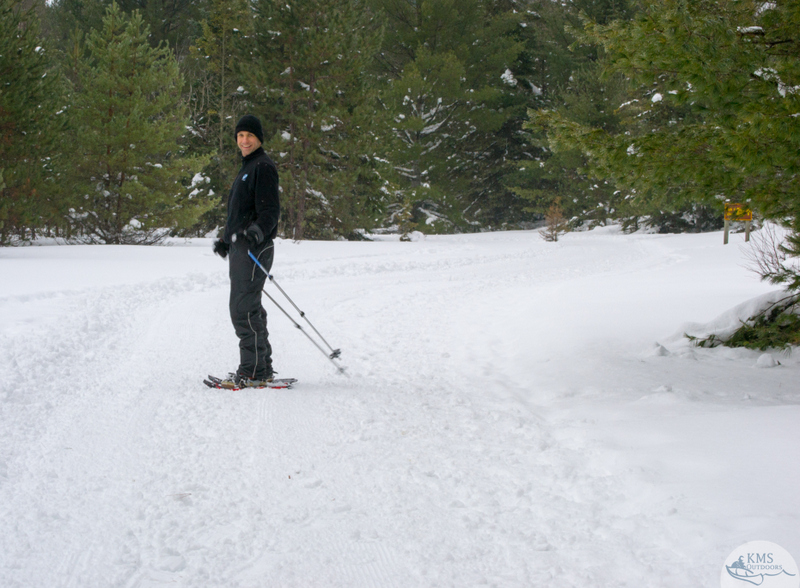 cross country ski trails near mew lake campground algonquin