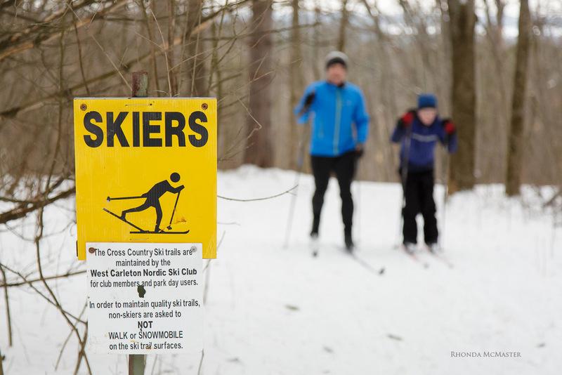 fitzroy provincial park skiing near ottawa river