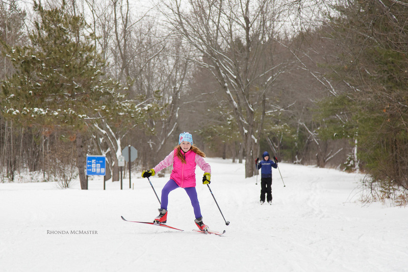 cross country skiing in Fitzroy provincial park ontario