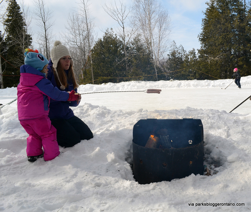 Bonfire HotDogs at MacGregor Point Provincial Park