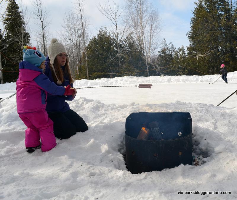 Bonfire HotDogs at MacGregor Point Provincial Park
