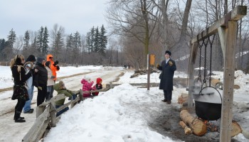 maple syrup festival at Bronte Creek park