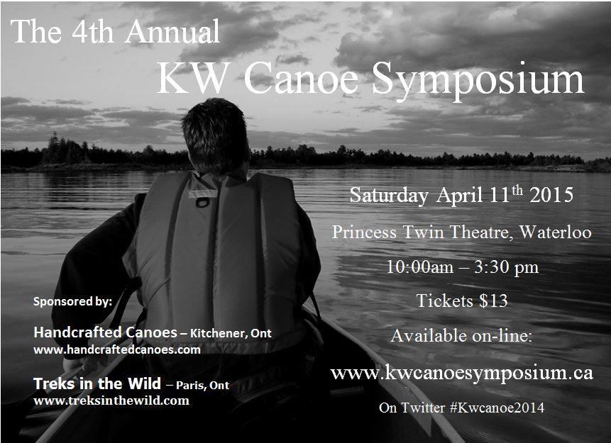 Kitchener Waterloo Canoe Symposium 2015