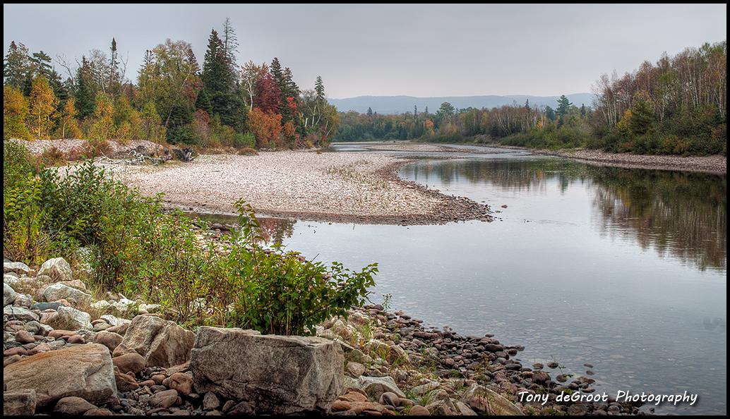 Old Woman River - Lake Superior Provincial Park