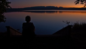 Sunset at Sleeping Giant Provincial Park