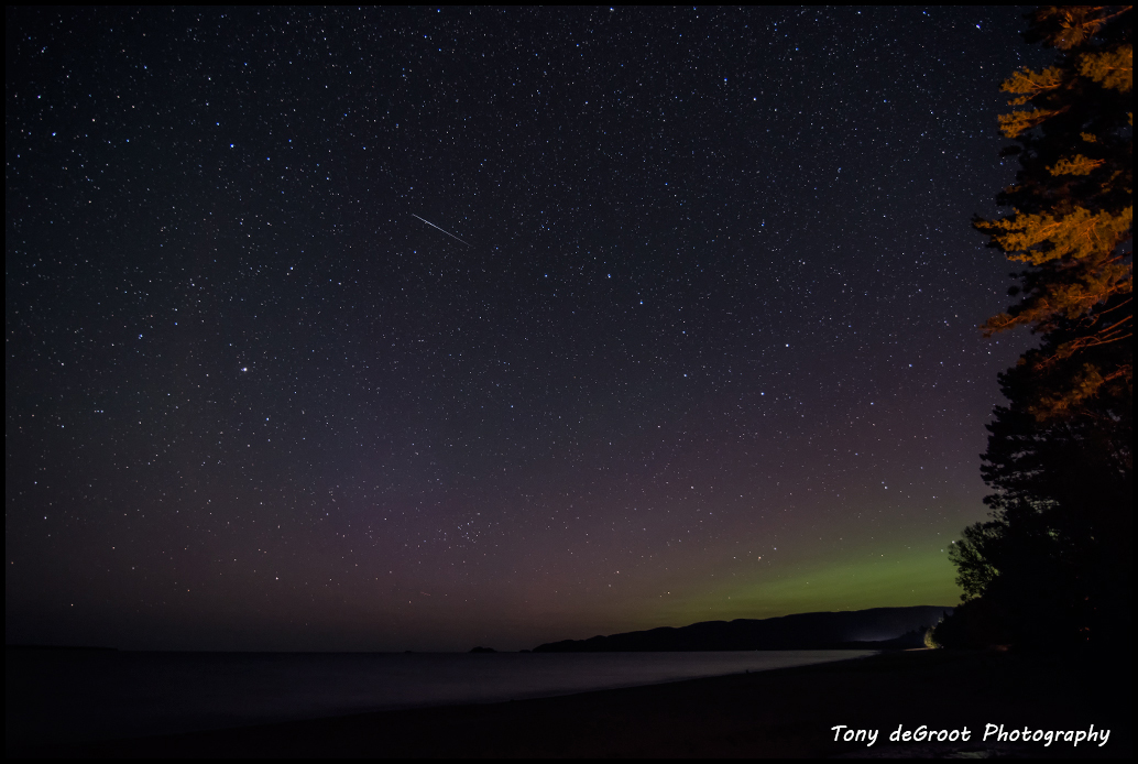 Starry Night on Lake Superior provincial park