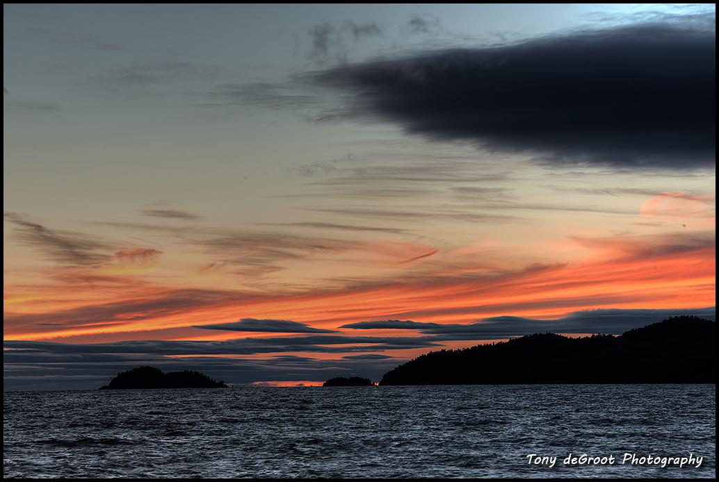Sunset at Agawa Bay