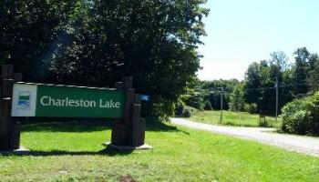 Charleston Lake Provincial Park Entrance