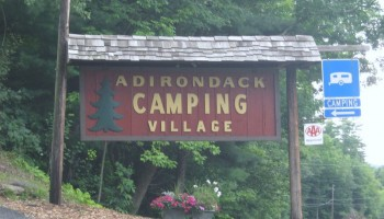 Adirondack Campground entrance