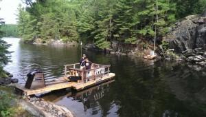 Water Spyder at Point Grandine Park Ontario