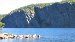 Mazinaw_Rock at Bon Echo Provincial Park Ontario