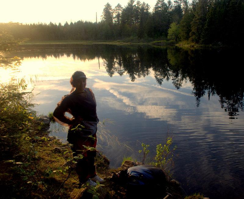 Last Portage before Lake Travers, Algonquin