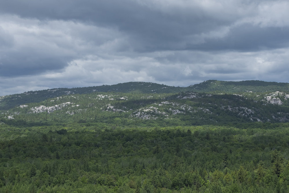 La Cloche mountains, Granite Trail, Killarney Provincial Park