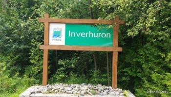 Inverhuron Provincial Park Entrance