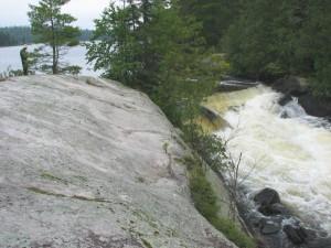 Falls in Quetico Provincial Park