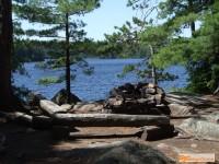 campsite at Maple Lake