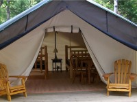 Deluxe Tent at Arrowhead provincial park