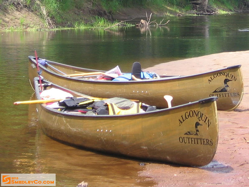 Picture Of Canoes Algonquin