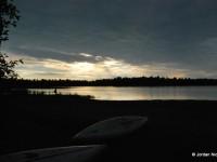 Sunrise at Poplar Campground Beach
