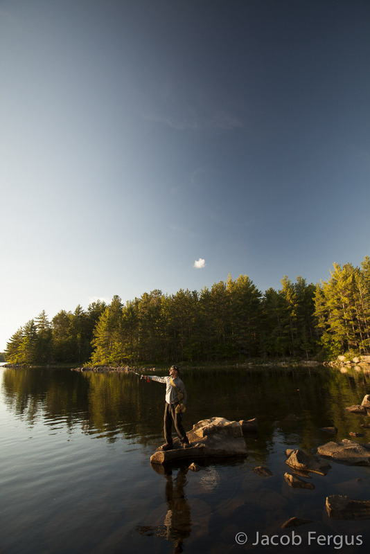 Backcountry camping at Bon Echo