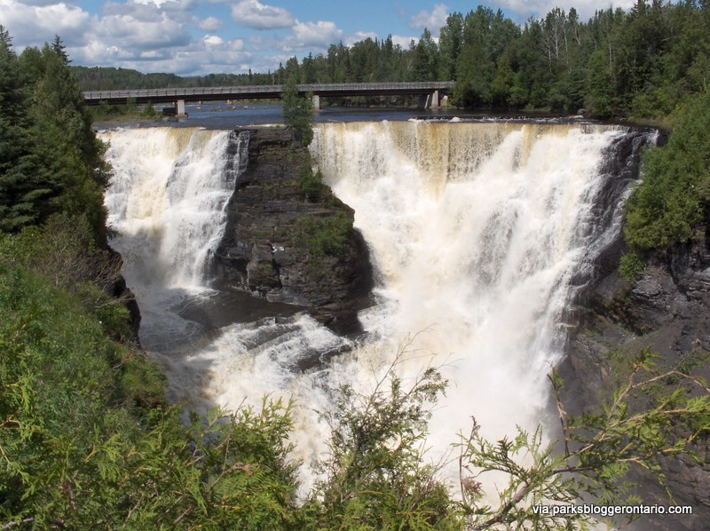 Kakabeka Falls is so tall and powerful, it's been nicknamed the Niagara of the North