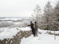 rattlesnake point conservation winter lookout