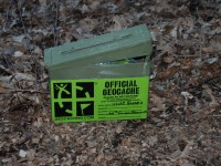 Geocache container