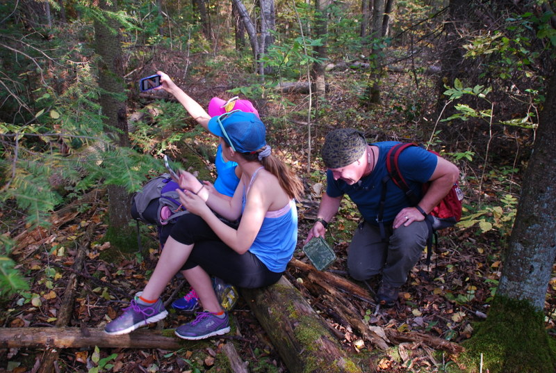You can use your phone for geocaching