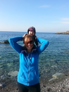 how i found myself camping when I was 40 weeks pregnant