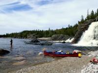My Favorite Campsite in Ontario: Cascade Falls, Pukaskwa National Park