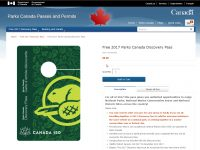 How to order your free 2017 Discovery Pass from Parks Canada
