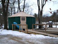 Best Winter Yurts in Ontario