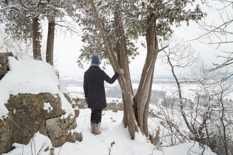 Rattlesnake point Milton - Winter hiking