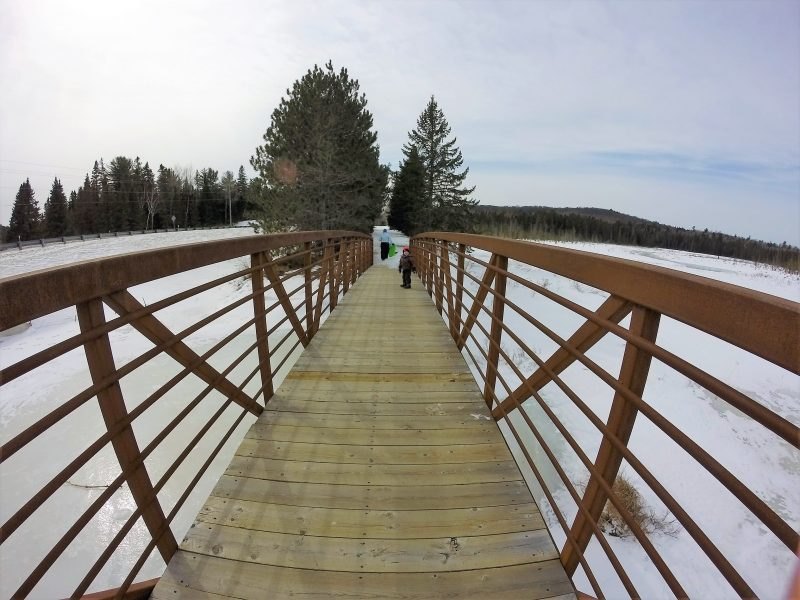 Spruce Bog Trail Foot Bridge
