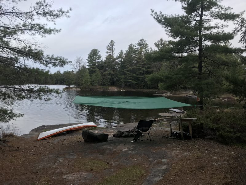 Aqua Quest Silicone Tarp Review - In Backcountry Use (2)