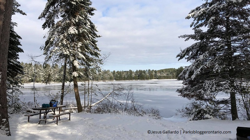 Winter Camping Algonquin Mew Lake 3 - Jesus Gallardo - Parks Blogger